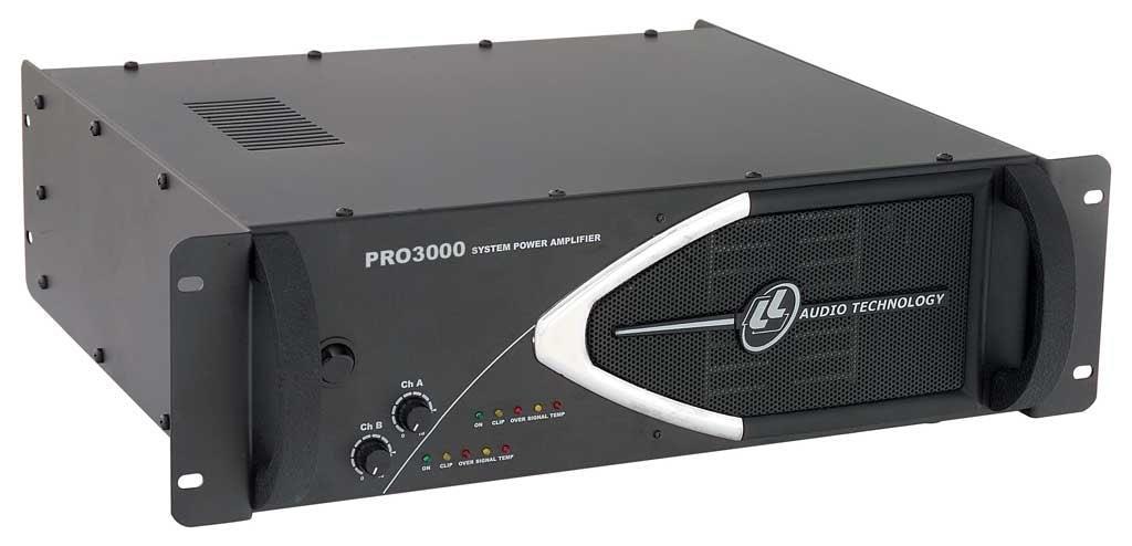 Amplificador de Potência LL Audio PRO3000 (750w RMS)