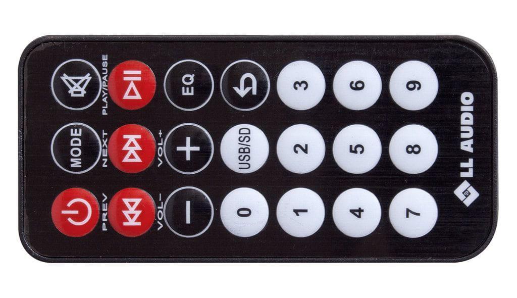 Caixa Multiuso LL Audio UP!5 (35w RMS/Bluetooth/Rádio FM/USB/Cartão SD)