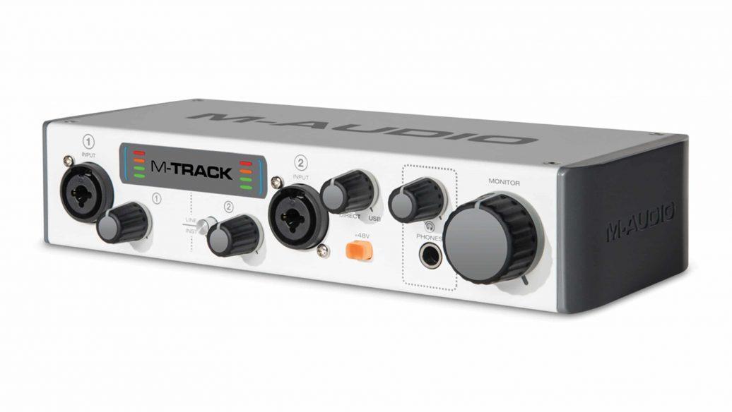 M-Audio Interface de Áudio para Gravação M-TRACK - USB