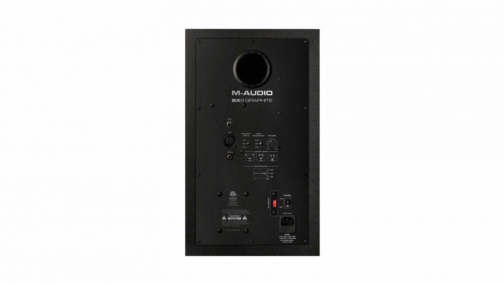 """M-Audio Monitor de Referência para Estúdio BX8 Graphite (8""""/150w)"""