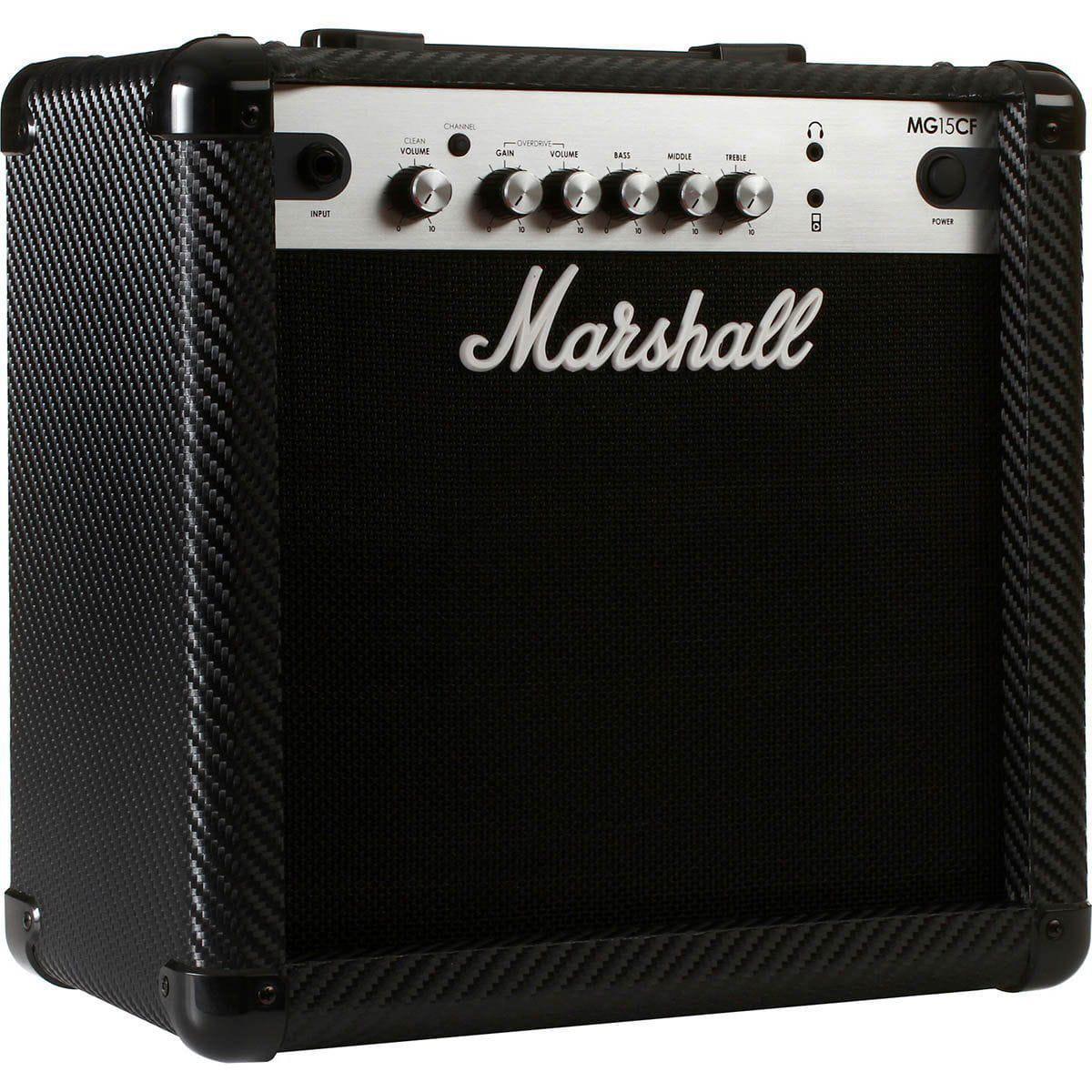 Marshall Amplificador Cubo para Guitarra MG15CF (8''/15w RMS)