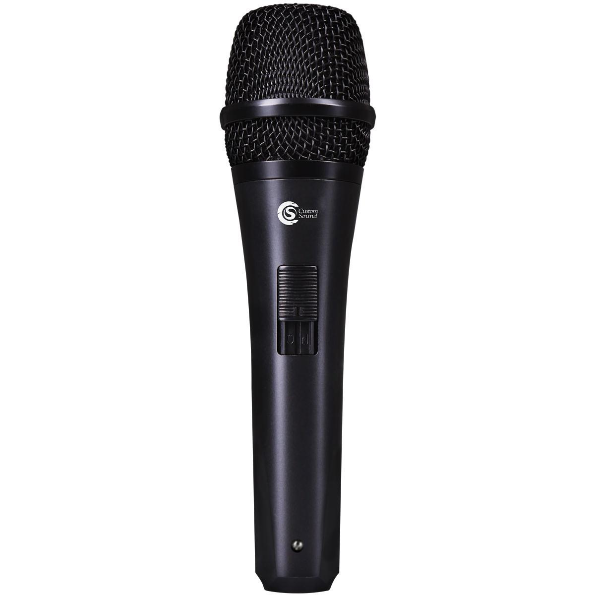 Microfone Dinâmico Cardióide Custom Sound CSMS-835