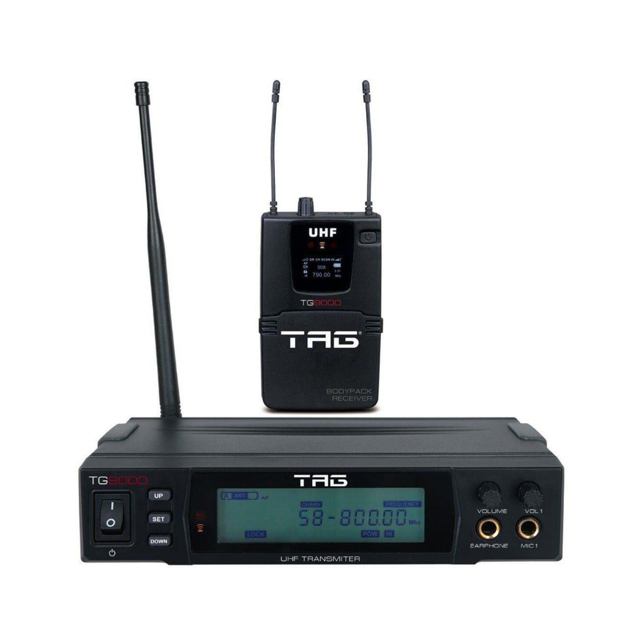 Monitor Pessoal Sem Fio Tagima TAG SOUND TG-9000 (UHF)
