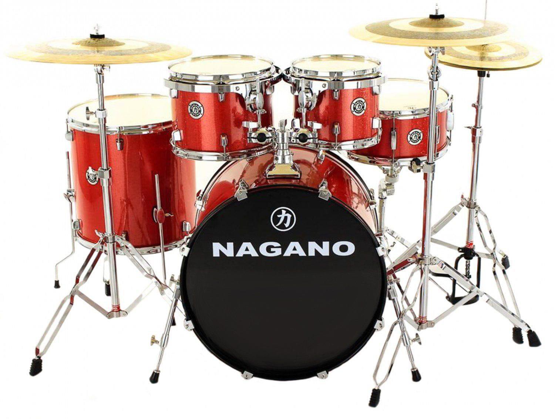 Nagano Bateria Acústica Garage GIG (Bumbo 18''/Sem Pratos)