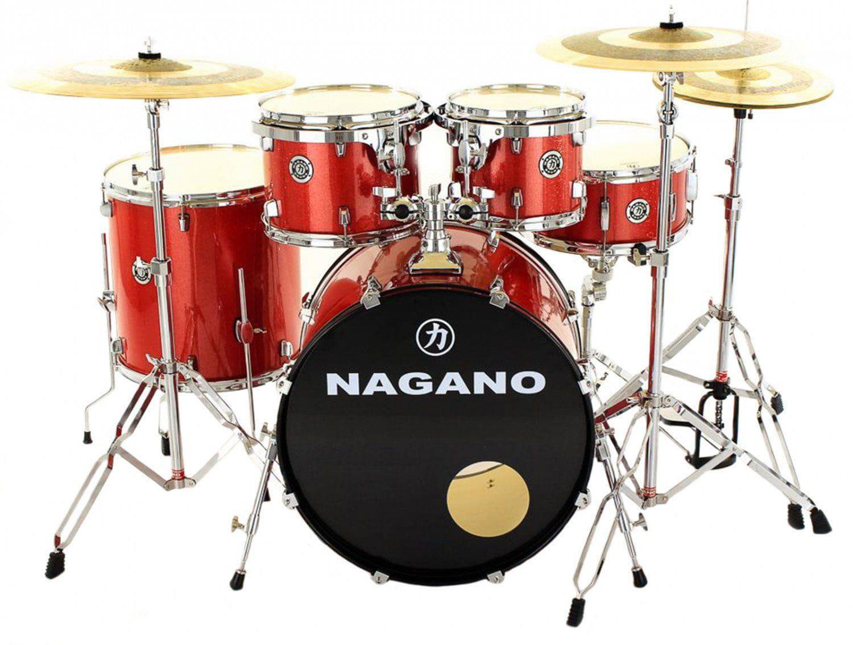 Nagano Bateria Acústica Garage FUSION (Bumbo 20''/Sem Pratos)