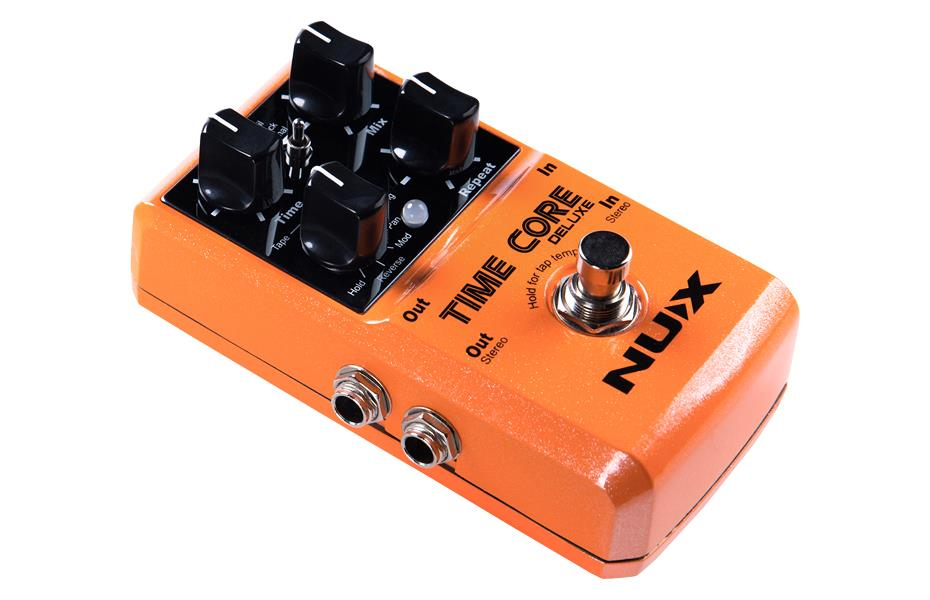 Nux Pedal De Efeito para Guitarra Time Core Deluxe (Delay)