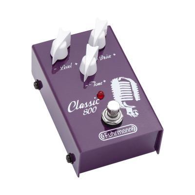 Fuhrmann Pedal de Efeito para Guitarra Classic 800 CL01