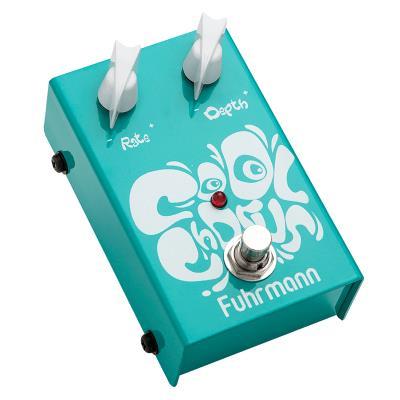 Fuhrmann Pedal de Efeito para Guitarra Cool Chorus CC01