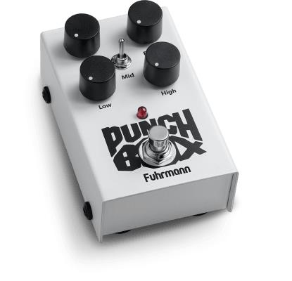 Fuhrmann Pedal de Efeito para Guitarra Distortion Punch Box PB02
