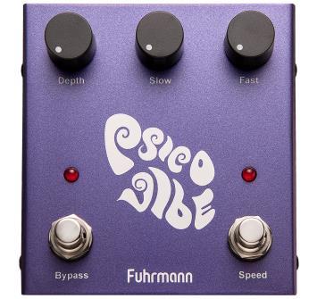 Fuhrmann Pedal de Efeito para Guitarra Psico Vibe PV-1