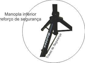 Pedestal para Caixa de Som Boötes TRIPOD115