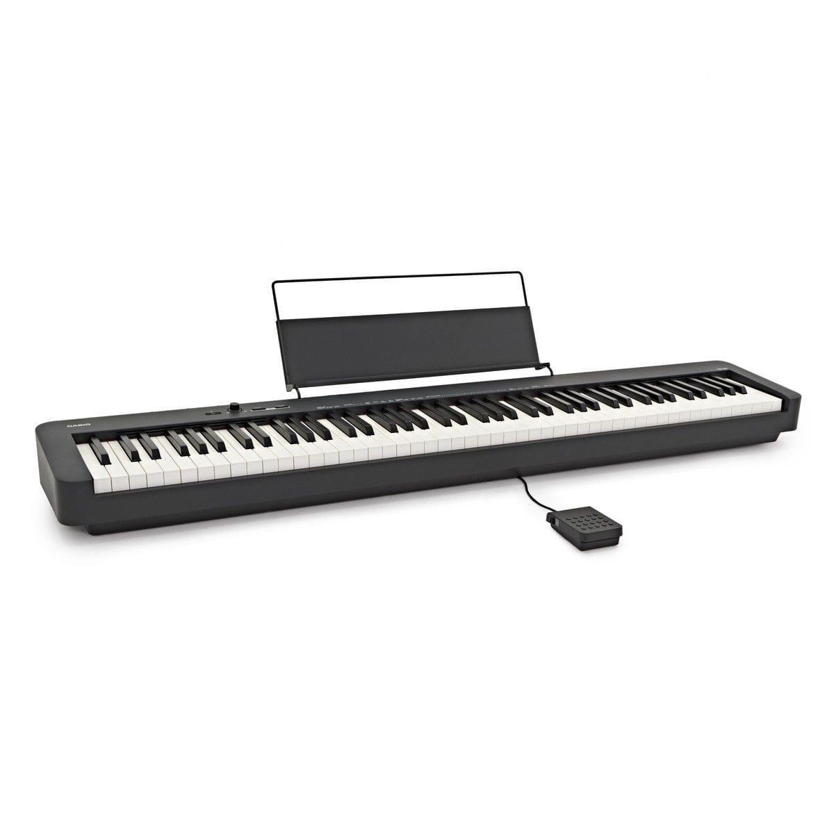 Piano Digital Casio CDP-S100BK (Com Pedal e Fonte)