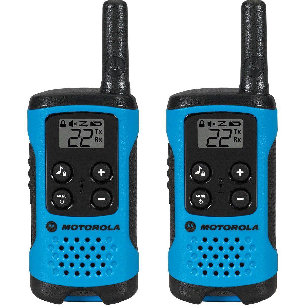Rádio Comunicador Talkabout Motorola T100BR Azul