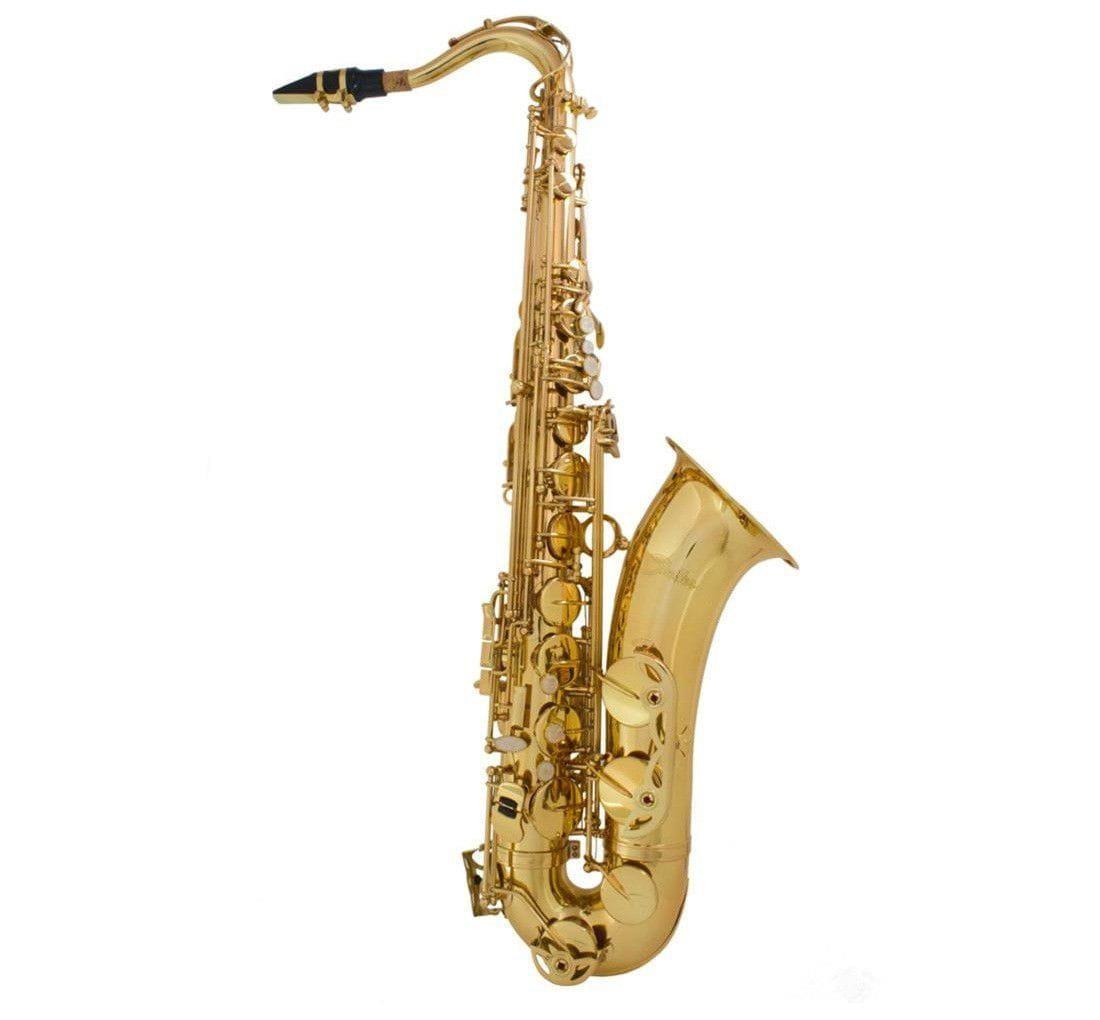 Saxofone Tenor Shelter SGFT6435L Laqueado Dourado com Estojo