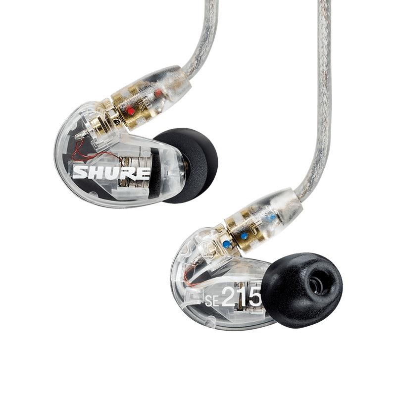 Shure Fone de Ouvido In-Ear SE215 Clear