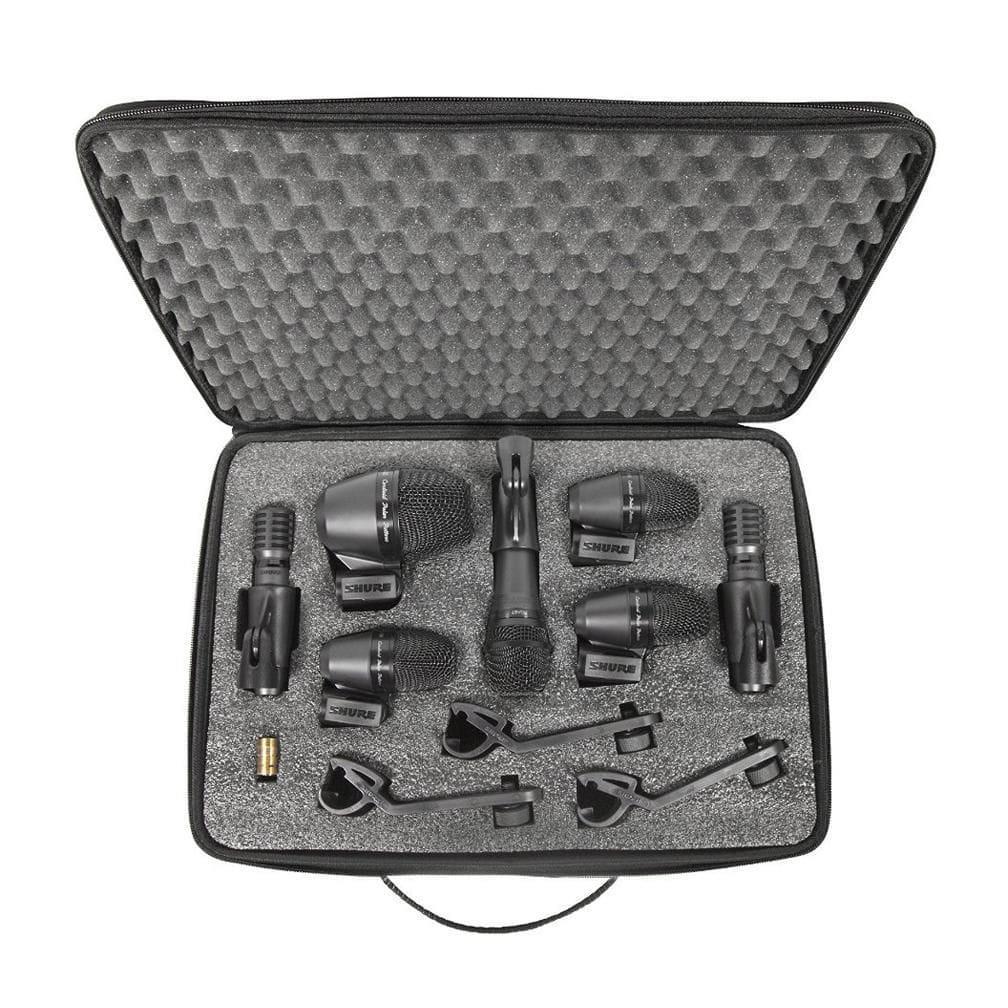 Shure KIT De Microfones para Bateria PGADrumKit7