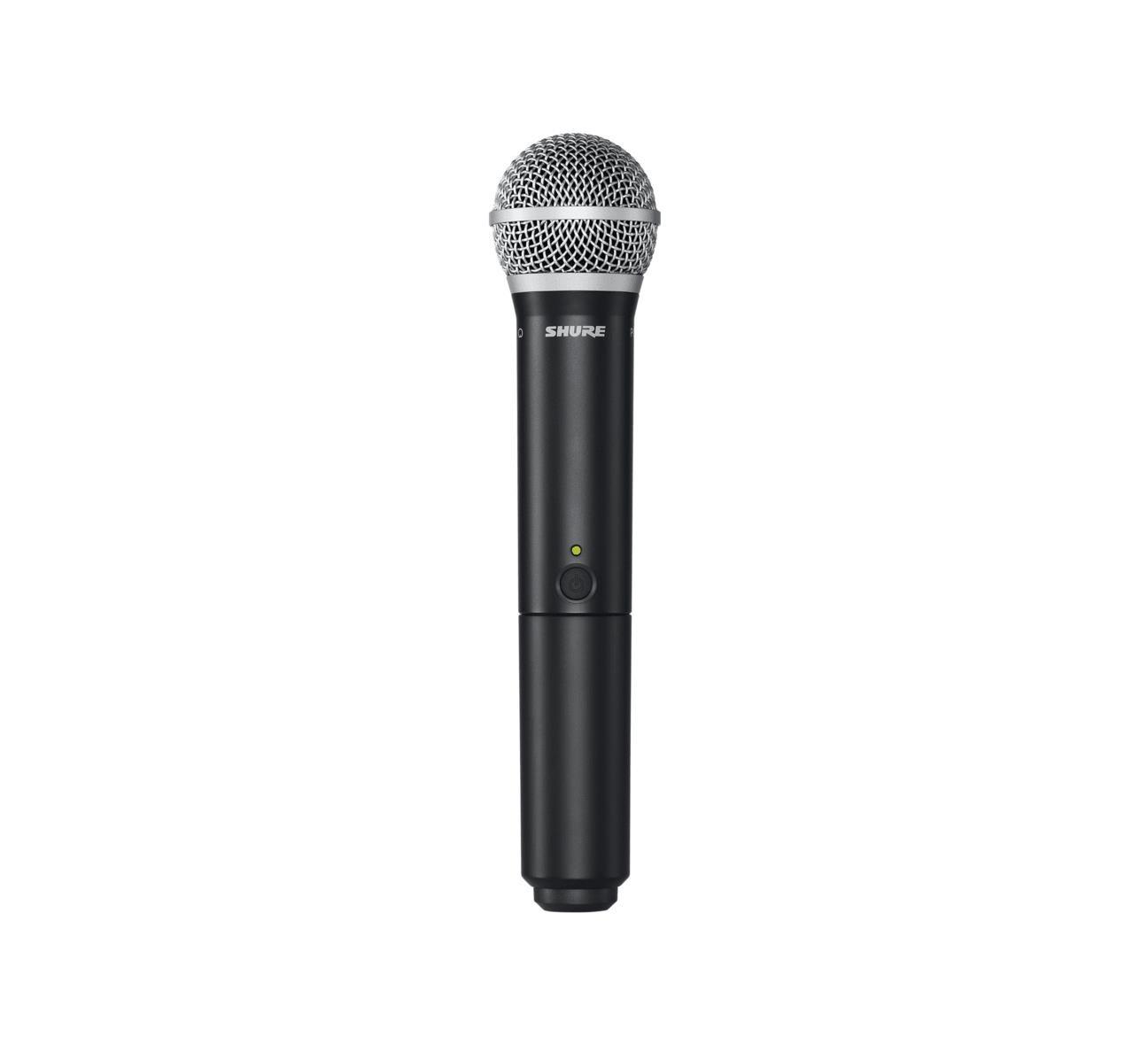 Shure Microfone Sem Fio BLX24BR/PG58-J10 Wireless Vocal (PG-58/UHF/Cachimbo)