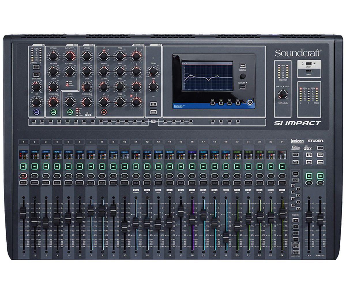 Soundcraft Mixer Digital SI IMPACT (32 Canais/Interface USB)