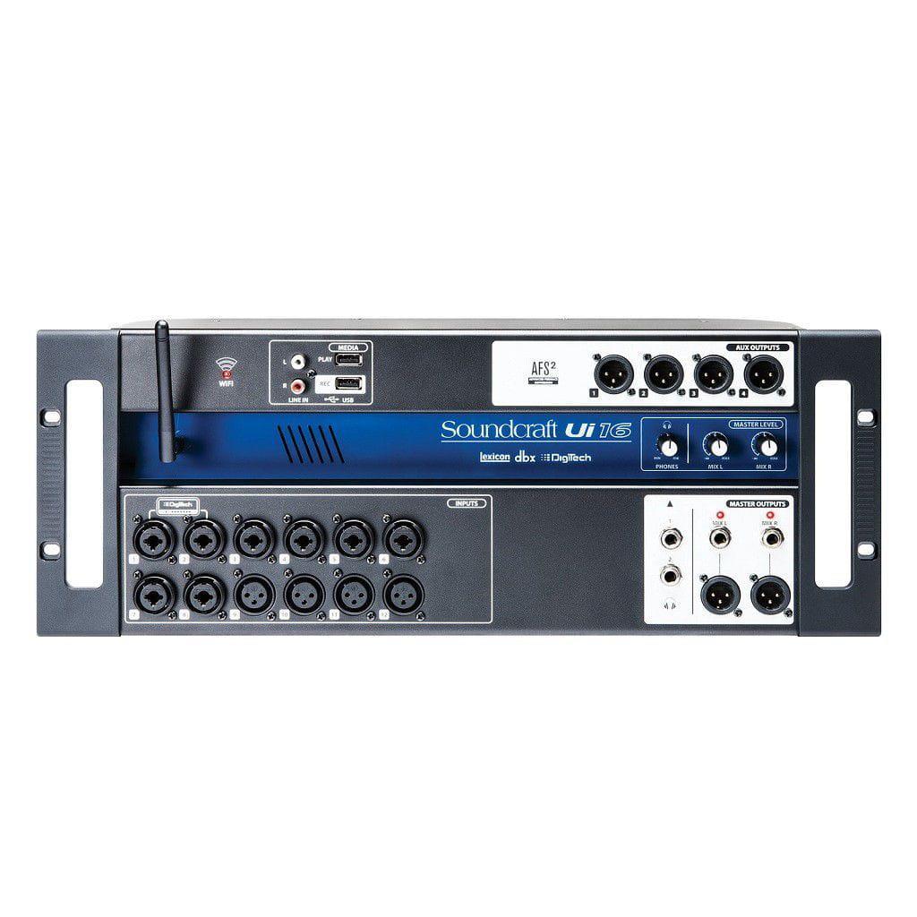 Soundcraft Mixer Digital UI16 (16 Canais/Interface USB)