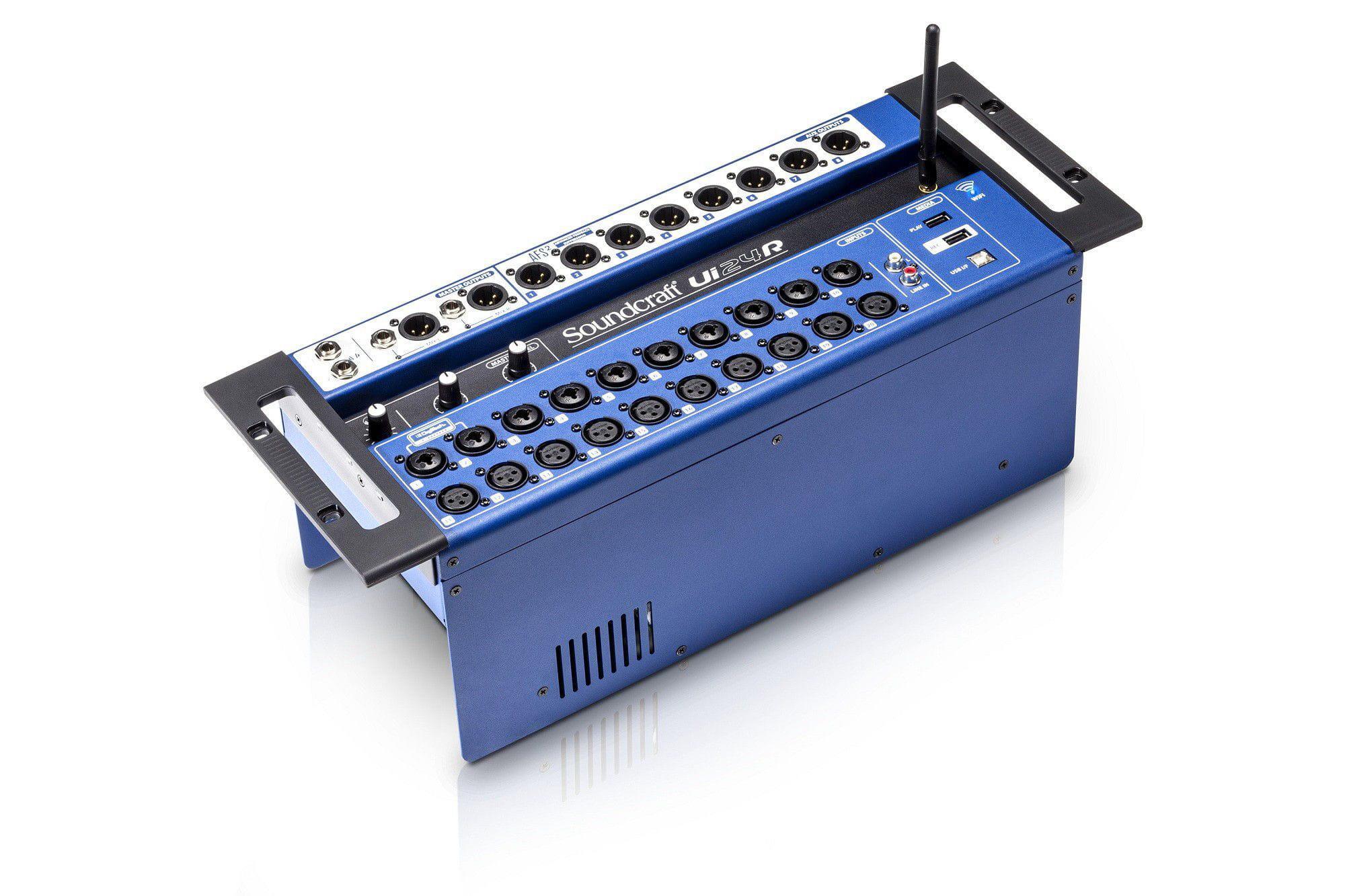Soundcraft Mixer Digital UI24R (24 Canais/Interface USB)