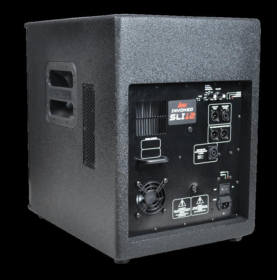 Sub Grave Ativo Leacs SLI Invoked 12A (Falante 12''/600w RMS)