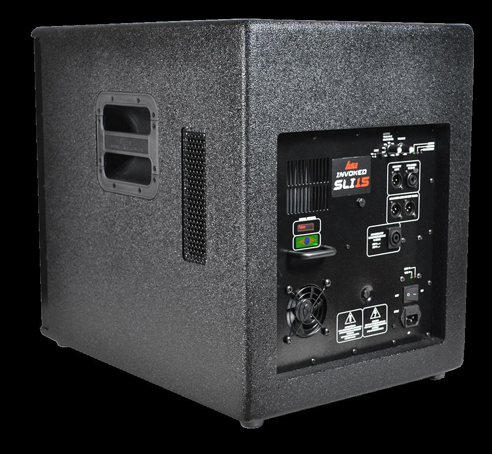 Sub Grave Ativo Leacs  SLI Invoked 15 (Falante 15''/600w RMS)