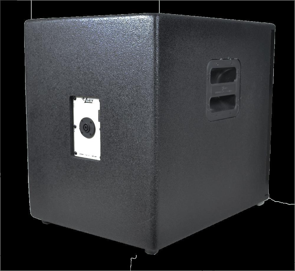 Sub Grave Passivo Leacs  SLI Invoked 15 (Falante 15''/350w RMS)