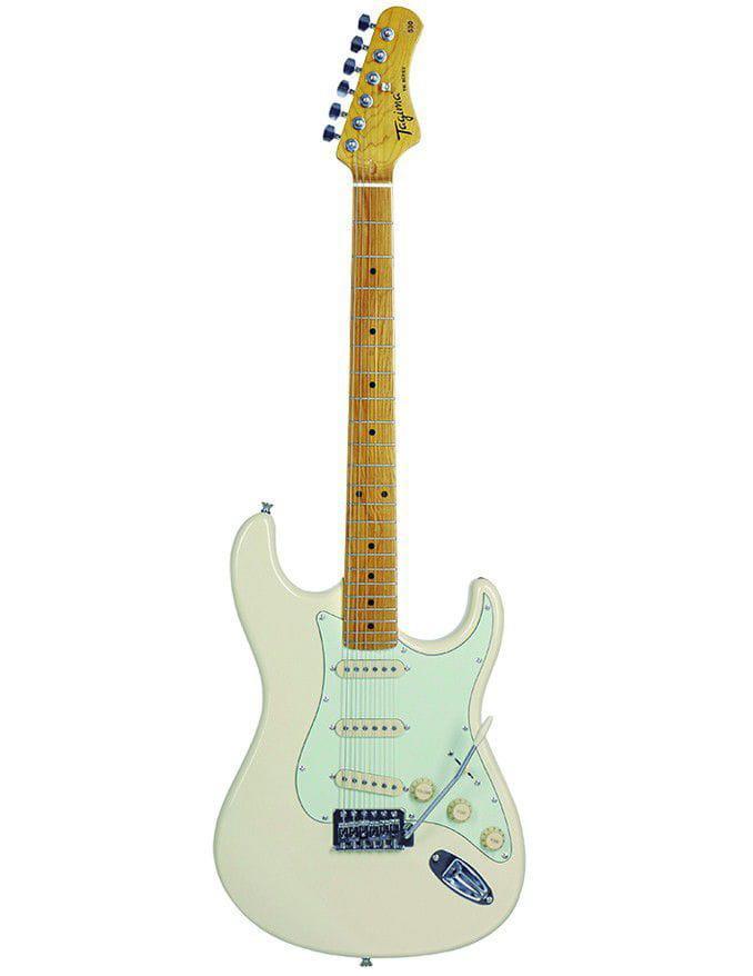 Tagima Guitarra Strato TG-530 Woodstock WV (White Vintage)