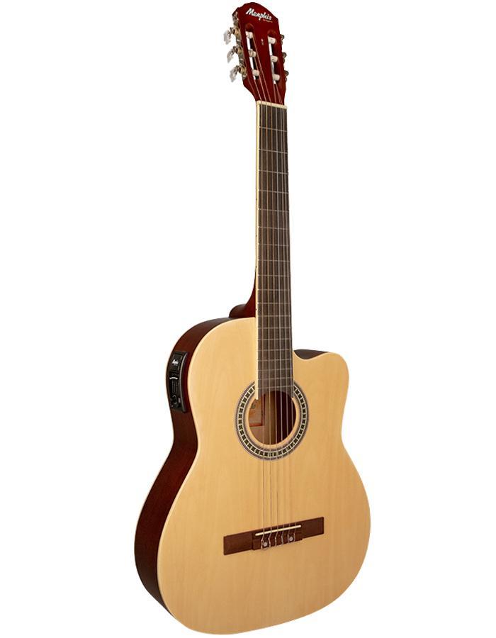 Tagima Memphis Violão Eletroacústico AC-60 Natural Satin (Nylon)