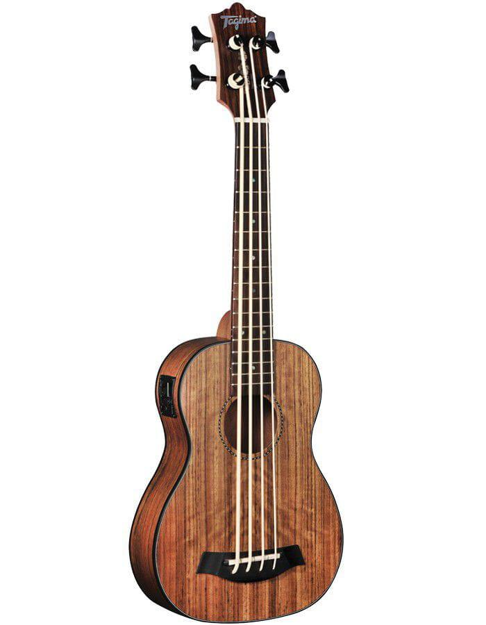 Tagima Ukulele Bass Elétrico 30-KB Natural Walnut Satin