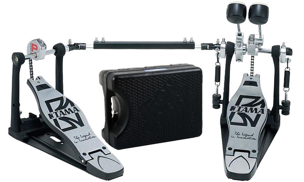 Tama Pedal Duplo para Bumbo de Bateria HP3000TWB (Com Estojo)