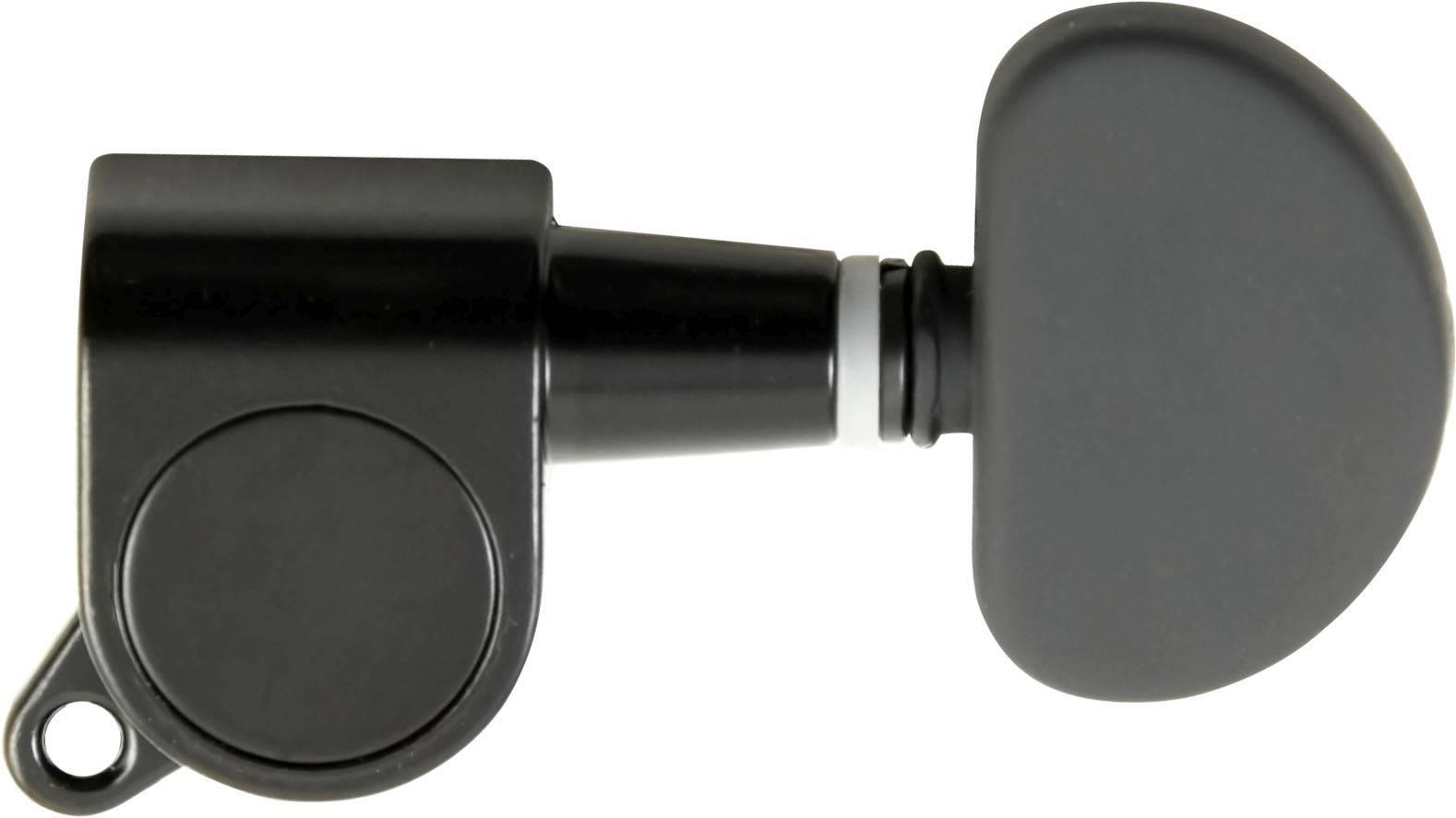 Tarraxa para Violão Aço Blindada Preta Strinberg AM03BK (3+3)