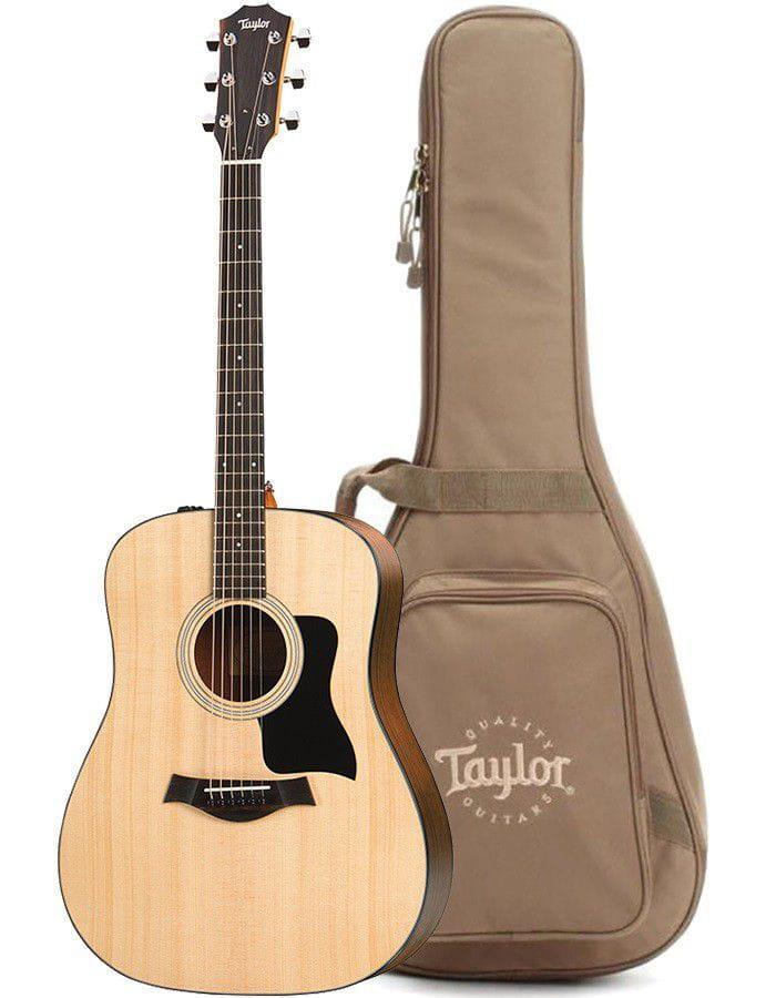 Taylor Violão Eletroacústico 110E Natural (Aço/Com Bag)