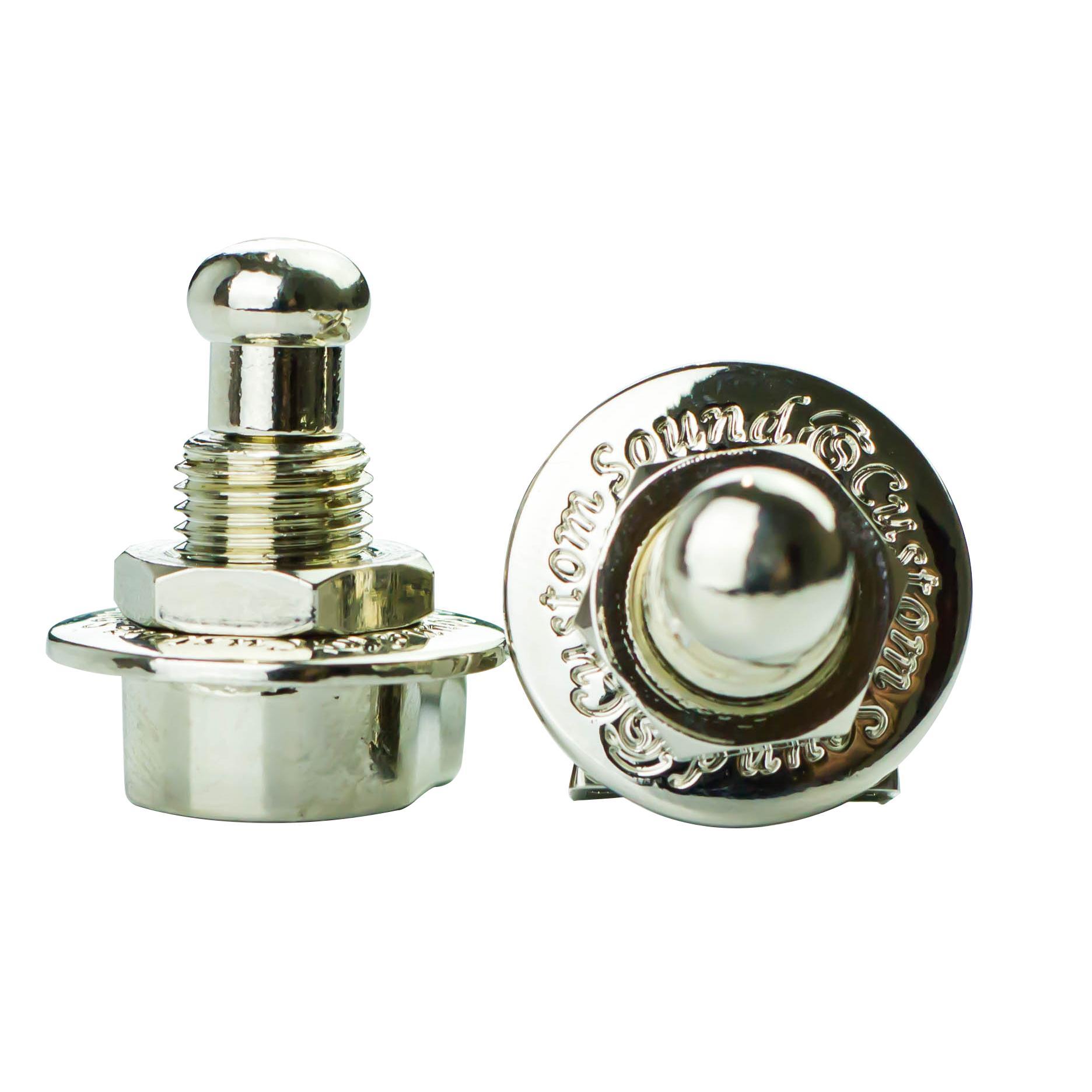 Trava Mecânica para Correias Strap Lock S-1 (Cromado)