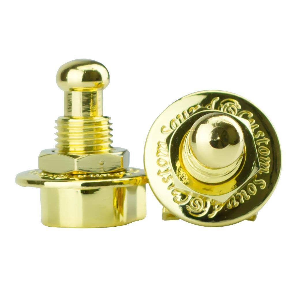 Trava Mecânica para Correias Strap Lock S-1 (Dourado)