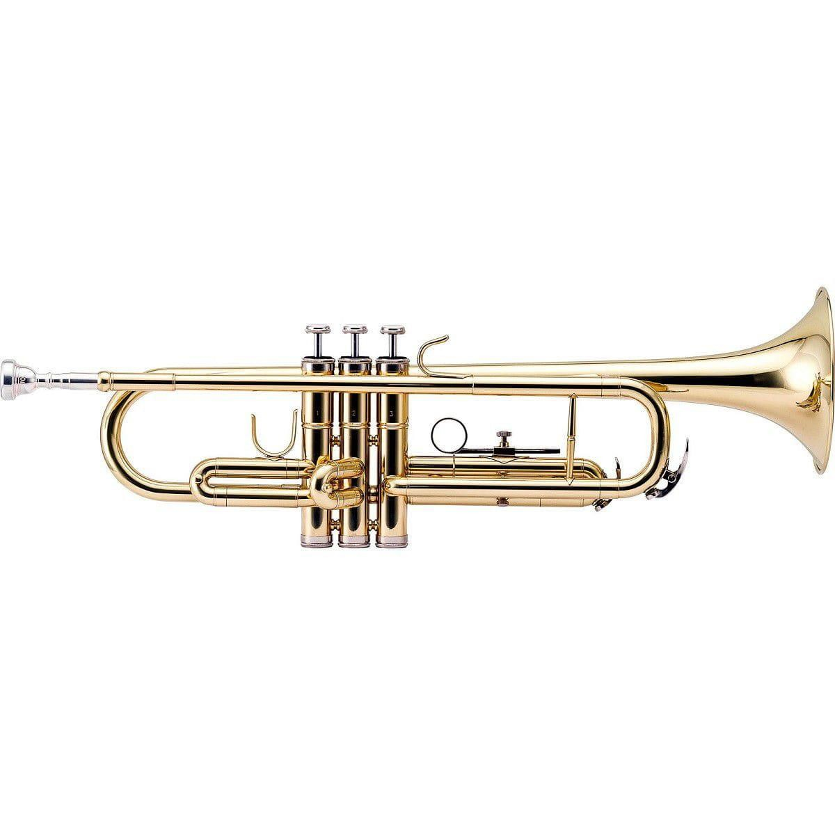 Trompete Harmonics HTR-300L SÍ BEMOL Laqueado (Com Estojo)