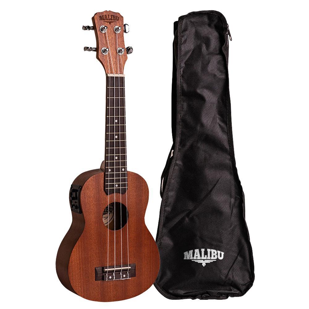 Ukulele Elétrico Soprano Malibu 21S-EQ (Com Capa)