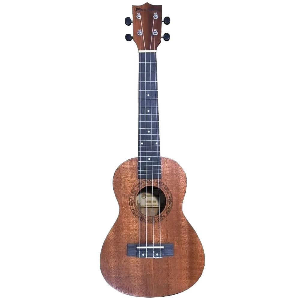 Ukulele Phantom Soprano UK-21TH Natural Mogno Fosco (Fundo Abaulado)