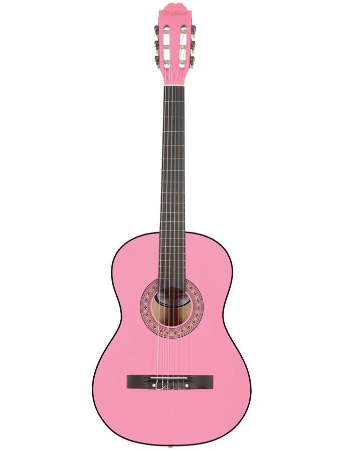 Waldman Violão Acústico CL-1 Rosa (Nylon)