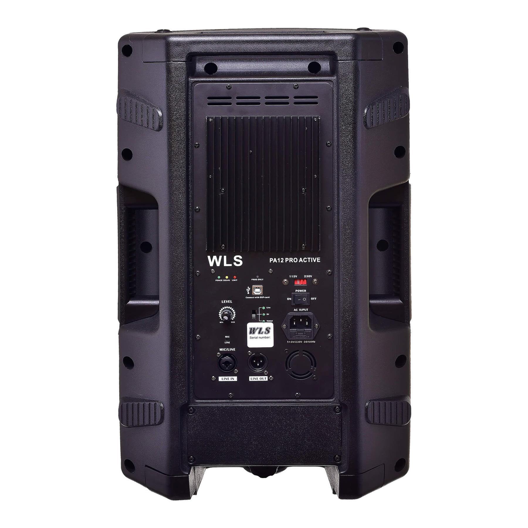 Caixa Ativa WLS PA-12 PRO (12''/500w RMS)