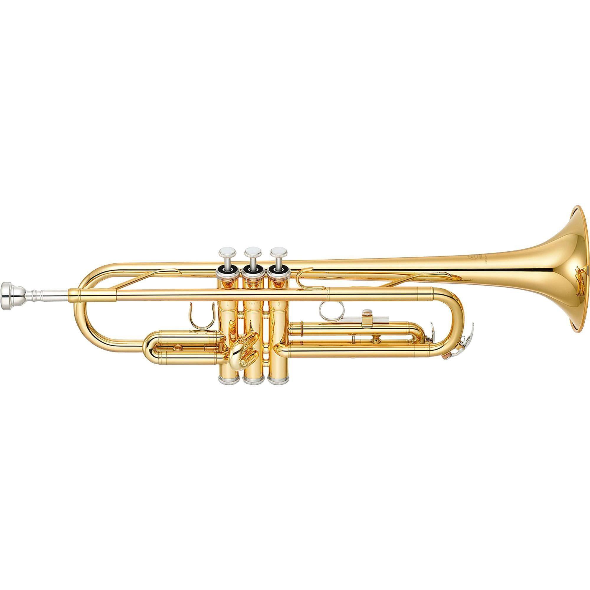 Yamaha Trompete YTR-2330 SÍ BEMOL Laqueado (Com Estojo)