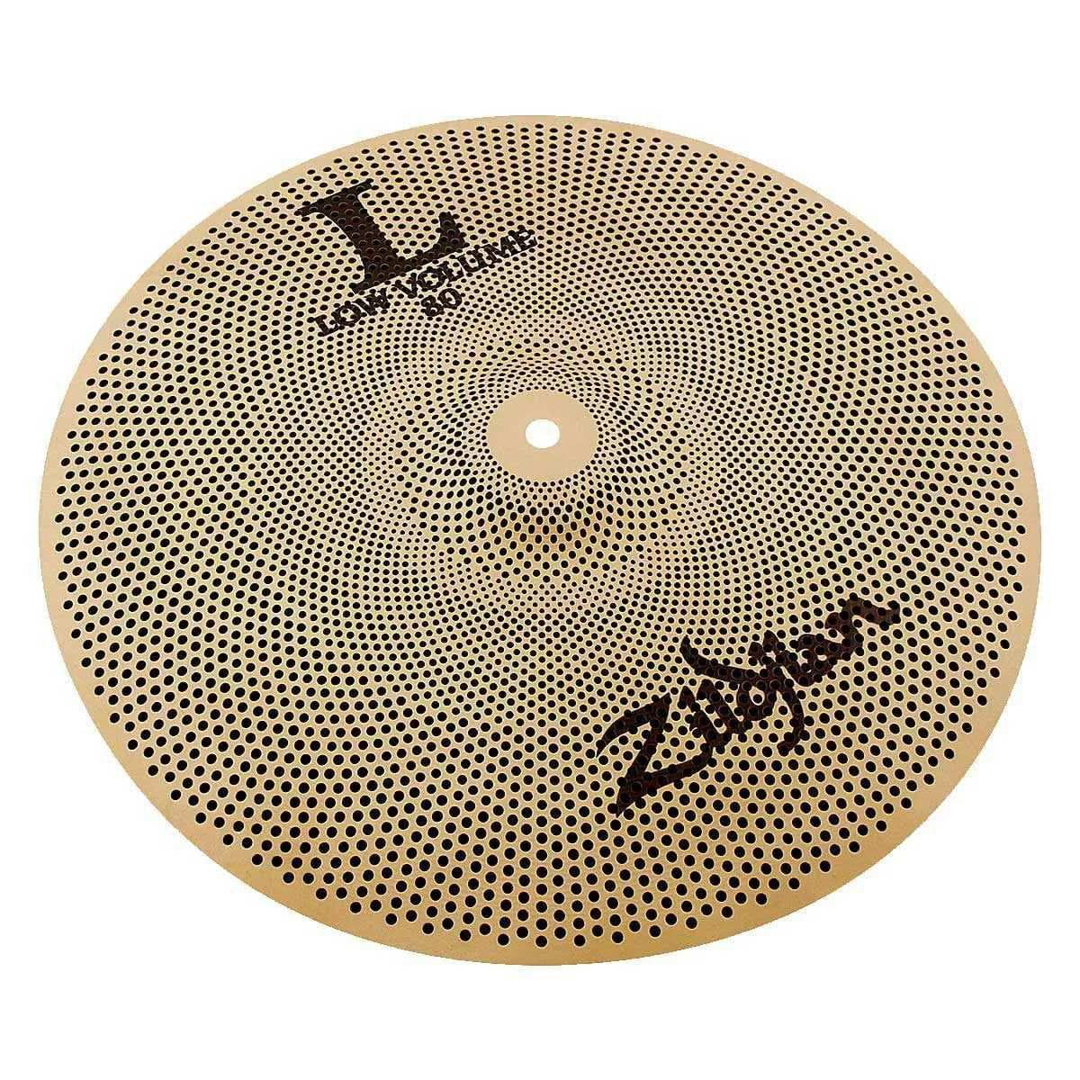 Zildjian Kit de Pratos Low Volume LV468 (14'' Hi-Hat, 16'' Crash e 18'' Crash Ride)