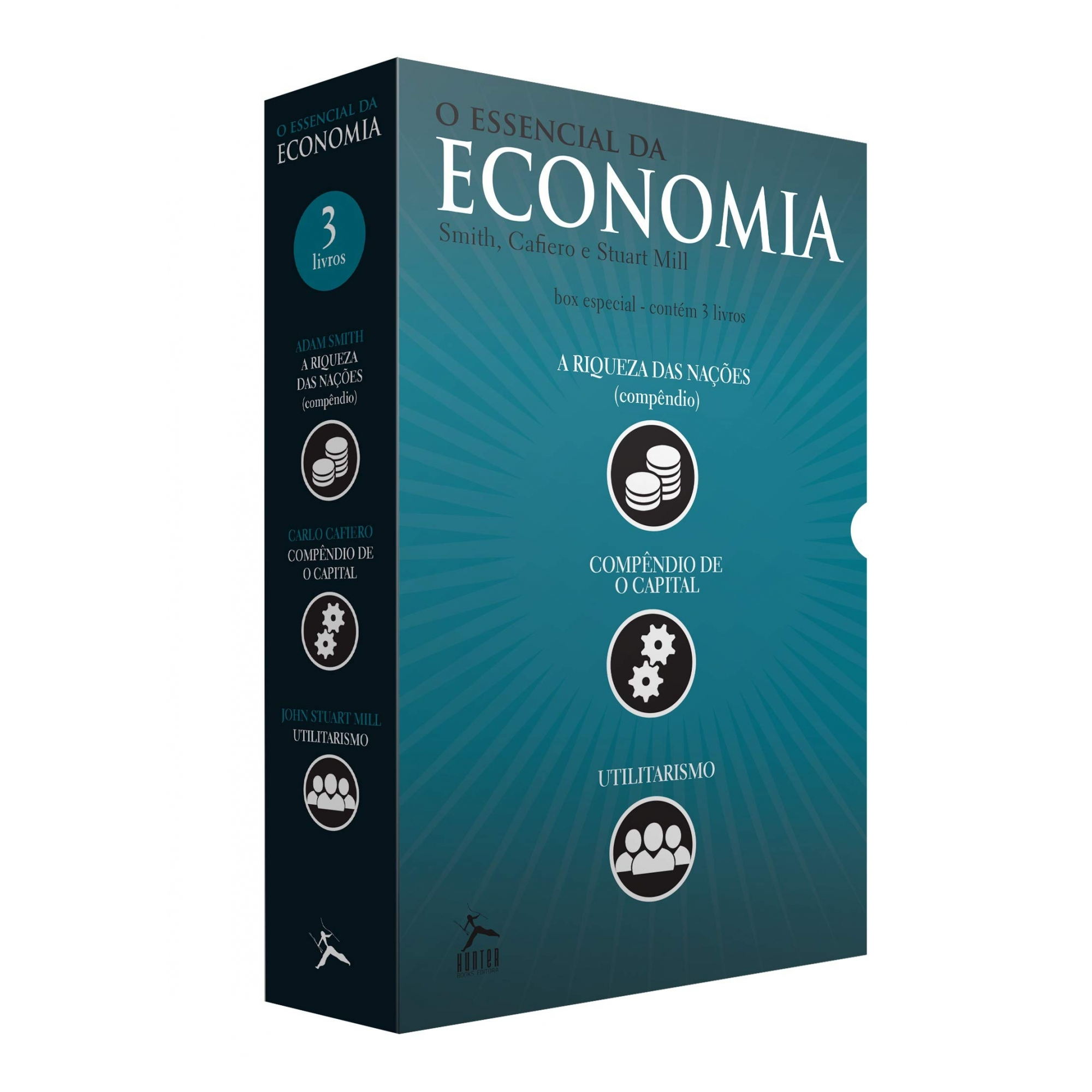 Box O Essencial da Economia - 3 Volumes
