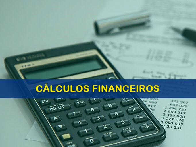 Cálculos Financeiros e Aulas Online