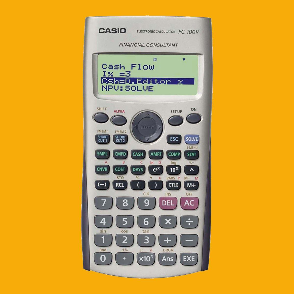 Casio FC 100V - Acessível e Prática