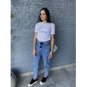 Camiseta Feminina Branca Amour