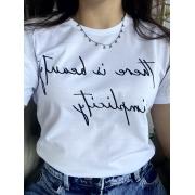 Camiseta Feminina Branca Simplicity