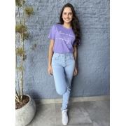 Camiseta Feminina Lavanda Simplicity