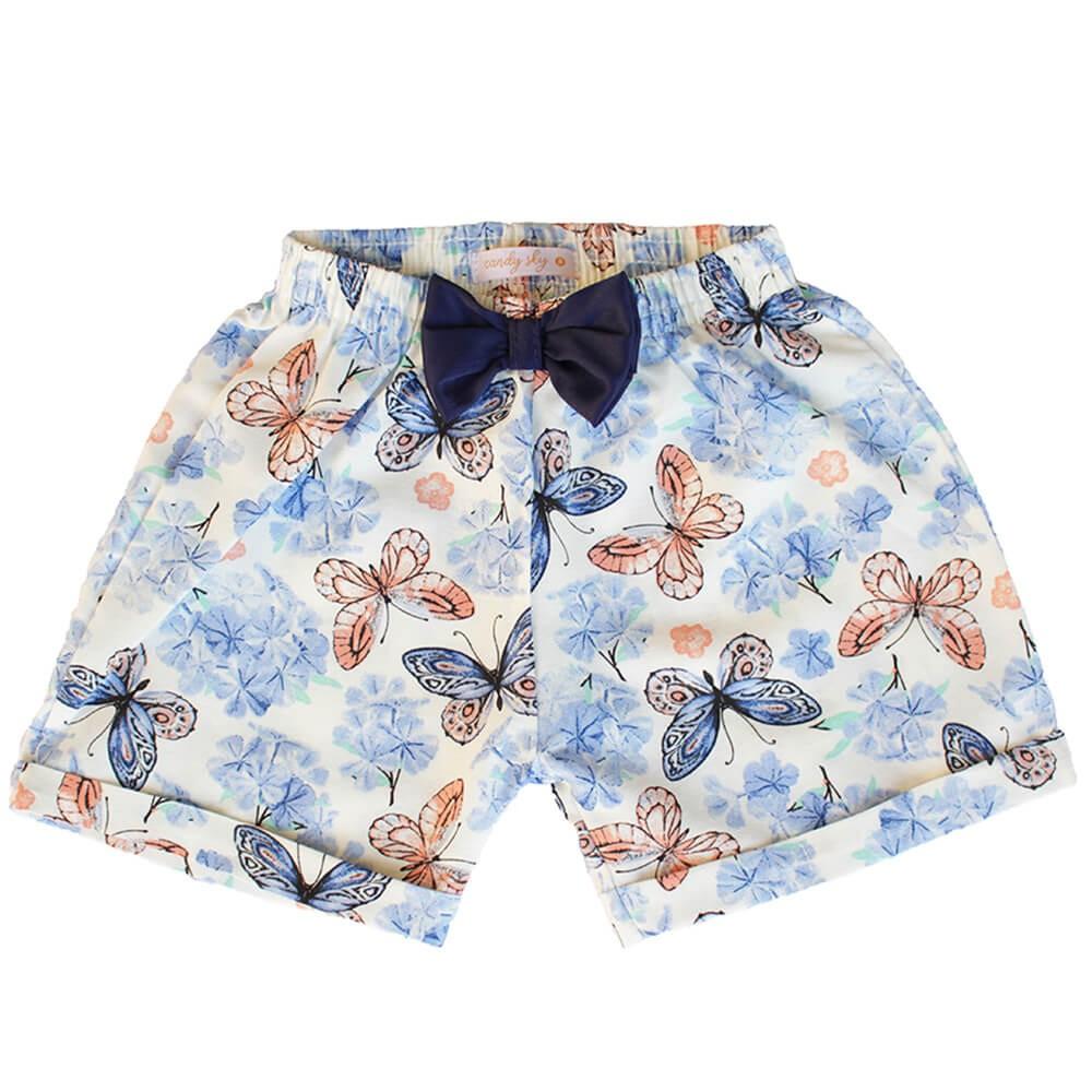 Shorts Infantil Tricoline Estampado