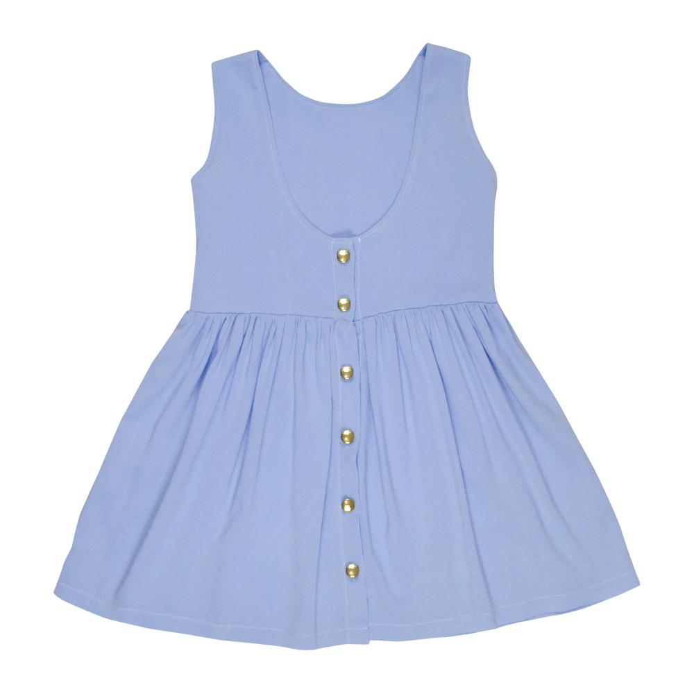 Vestido Curto Azul Serenity